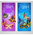 Carnival Banners Set vector image vector image