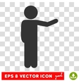 Child Show Eps Icon vector image vector image