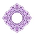 Guilloche element for design certificate vector image vector image