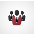 Man manager icon vector image vector image