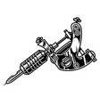 professional tattoo machine concept vector image vector image
