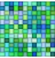 Seamless Green Blue Color Gradient Square vector image vector image