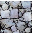 seamless texture of stones in vector image