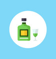 absinthe icon sign symbol vector image