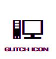 computer icon flat vector image vector image