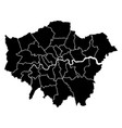 map of london vector image vector image