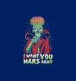 mars army vector image vector image