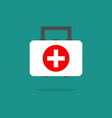 medical bag icon medecine element for mobile vector image vector image