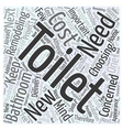 Remodeling Your Bathroom Choosing Your New Toilet