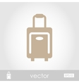 Traveling Bag icon vector image