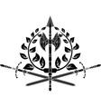 victory simbol vector image vector image