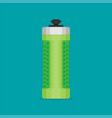 water bottle flat design - eps 10 vector image vector image