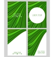 A set of four covers Drapery vector image