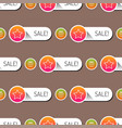 colorful website online shop web buttons seamless vector image vector image