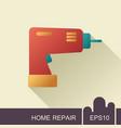 electric screwdriver icon vector image