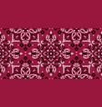 rectangular seamless bandana print design vector image