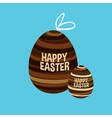 strips Easter egg vector image vector image