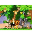 Animals cartoon vector | Price: 3 Credits (USD $3)