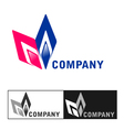 Business company logo design vector image