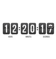 creative of countdown timer vector image vector image