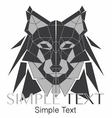 Geometric Wolf Logo or Husky 02