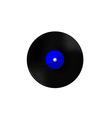 Vinyl blue vector image