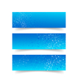 Set of network connection concept banner abstract vector image