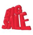 Big sale icon cartoon style vector image vector image