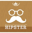 Hipster retro and vintage vector image vector image
