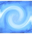 Abstract blue watercolor background with waves vector image vector image