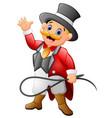 circus man cartoon vector image vector image