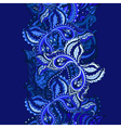 Elegant card with Indian paisley vector image vector image