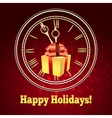 Happy Holidays Theme vector image