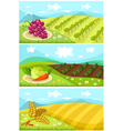 harvest card vector image vector image