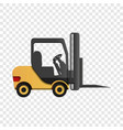lift machine icon cartoon style vector image