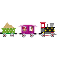 Little train vector image vector image