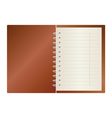 notes in a color vector image