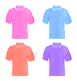 Polo t-shirts vector image vector image