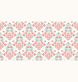 rectangular seamless bandana print design vector image vector image