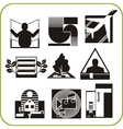 Repair and construction - set of icons vector image