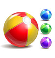 Beach ball vector image