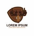 deer esport logo vector image vector image