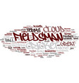 fieldsman word cloud concept vector image vector image