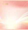 flash of flamingo color light sparkle vector image vector image