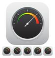 general dial gauge metering vector image