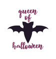 happy halloween emblem logo design holiday poster vector image vector image