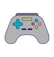 joystick icon cartoon vector image vector image