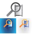 media search vector image vector image