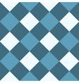 Ocean Blue White Diamond Chessboard Background vector image vector image
