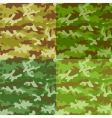 seamless camouflage vector image vector image